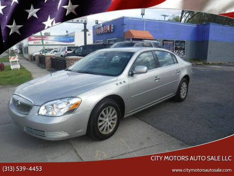 2007 Buick Lucerne for sale at City Motors Auto Sale LLC in Redford MI
