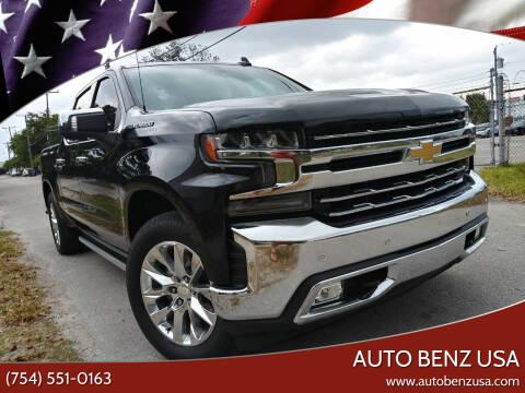 2019 Chevrolet Silverado 1500 for sale at AUTO BENZ USA in Fort Lauderdale FL