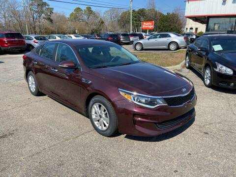 2016 Kia Optima for sale at Premium Auto Brokers in Virginia Beach VA