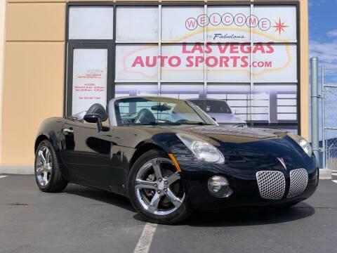 2006 Pontiac Solstice for sale at Las Vegas Auto Sports in Las Vegas NV