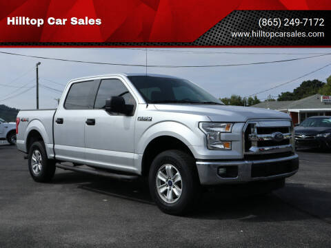 2015 Ford F-150 for sale at Hilltop Car Sales in Knox TN