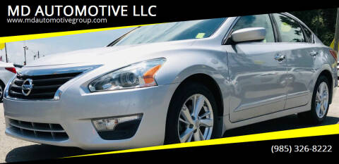 2013 Nissan Altima for sale at MD AUTOMOTIVE LLC in Slidell LA