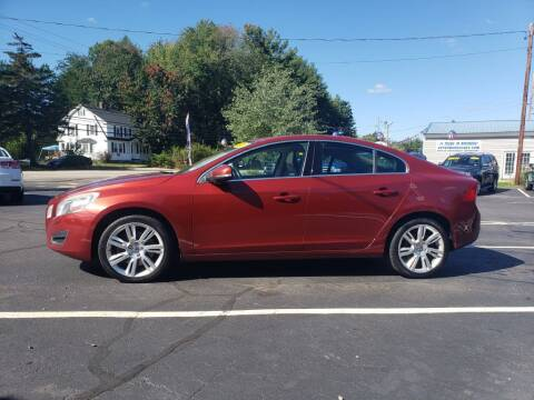 2013 Volvo S60 for sale at Healey Auto in Rochester NH