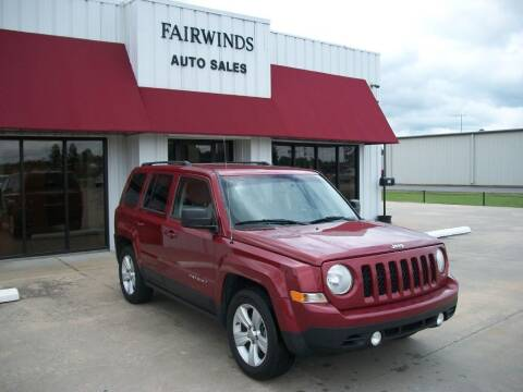 2013 Jeep Patriot for sale at Fairwinds Auto Sales in Dewitt AR