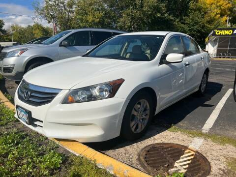 2012 Honda Accord for sale at Chinos Auto Sales in Crystal MN
