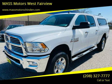 2013 RAM Ram Pickup 2500 for sale at M.A.S.S. Motors - West Fairview in Boise ID