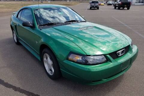 2001 Ford Mustang for sale at Cannon Falls Auto Sales in Cannon Falls MN