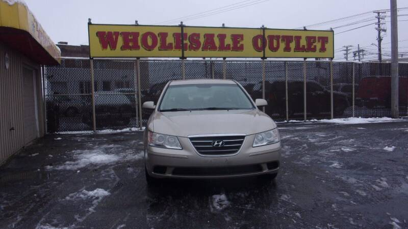2009 Hyundai Sonata for sale at LONG BROTHERS CAR COMPANY in Cleveland OH