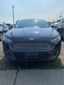 2014 Ford Fusion for sale at Mastro Motors in Garden City MI