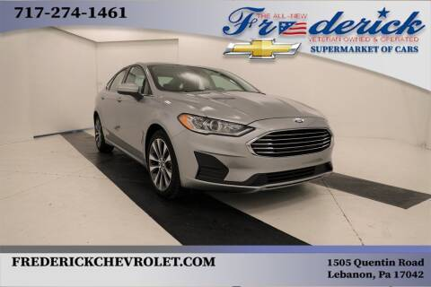 2020 Ford Fusion for sale at Lancaster Pre-Owned in Lancaster PA