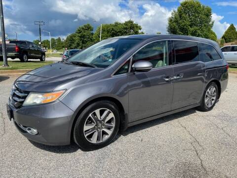 2014 Honda Odyssey for sale at Modern Automotive in Boiling Springs SC