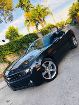 2013 Chevrolet Camaro for sale at IRON CARS in Hollywood FL