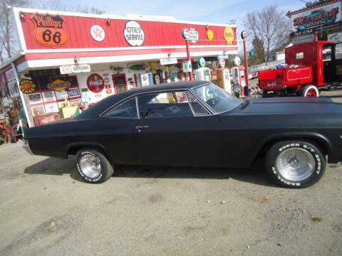 1966 Chevrolet Impala for sale at Marshall Motors Classics in Jackson Michigan MI