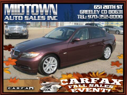 2007 BMW 3 Series for sale at MIDTOWN AUTO SALES INC in Greeley CO