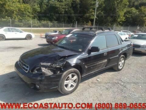 2006 Subaru Baja for sale at East Coast Auto Source Inc. in Bedford VA