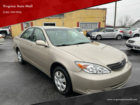 2004 Toyota Camry for sale at Virginia Auto Mall in Woodford VA