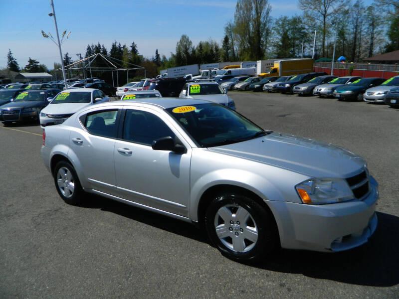 2010 Dodge Avenger for sale at J & R Motorsports in Lynnwood WA