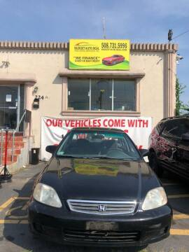 2000 Honda Civic for sale at Budget Auto Deal and More Services Inc in Worcester MA