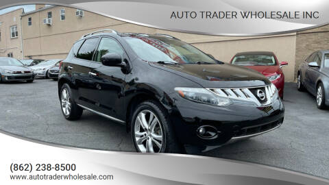 2009 Nissan Murano for sale at Auto Trader Wholesale Inc in Saddle Brook NJ