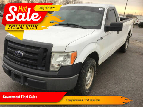 2011 Ford F-150 for sale at Government Fleet Sales in Kansas City MO