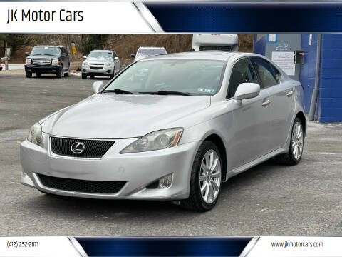 2006 Lexus IS 250 for sale at JK Motor Cars in Pittsburgh PA