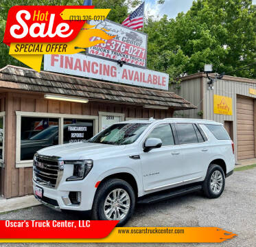 2021 GMC Yukon for sale at Oscar's Truck Center, LLC in Houston TX