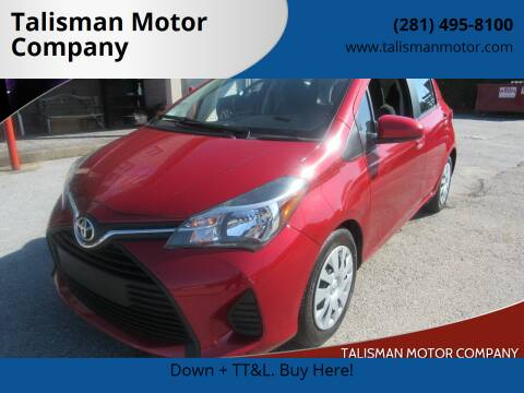 2017 Toyota Yaris for sale at Don Jacobson Automobiles in Houston TX