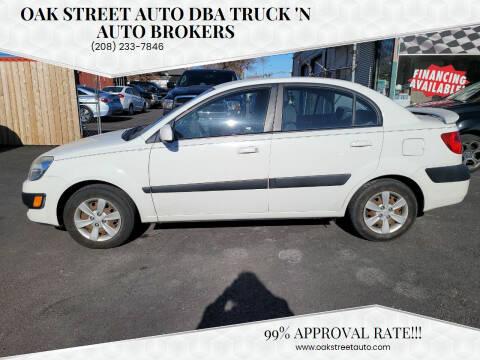 2009 Kia Rio for sale at Oak Street Auto DBA Truck 'N Auto Brokers in Pocatello ID