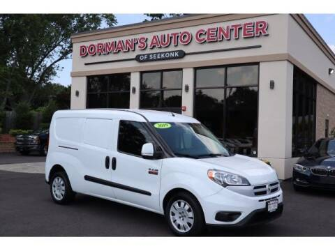 2017 RAM ProMaster City Cargo for sale at DORMANS AUTO CENTER OF SEEKONK in Seekonk MA