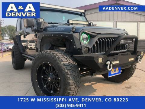 2008 Jeep Wrangler Unlimited for sale at A & A AUTO LLC in Denver CO