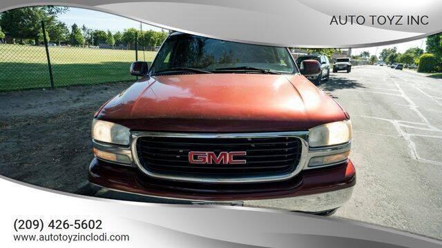 2002 GMC Yukon for sale at Auto Toyz Inc in Lodi CA