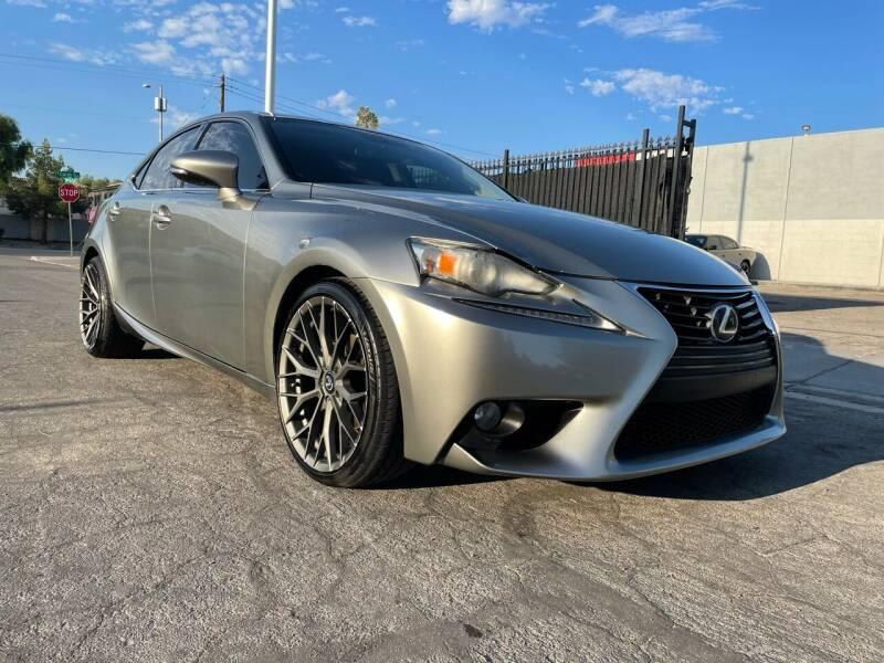 2014 Lexus IS 250 for sale at Boktor Motors in Las Vegas NV
