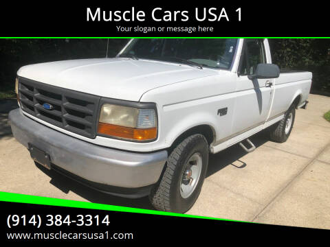 1996 Ford F-150 for sale at Muscle Cars USA 1 in Murrells Inlet SC