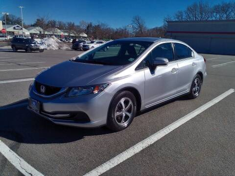 2015 Honda Civic for sale at B&B Auto LLC in Union NJ
