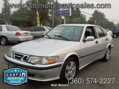 2002 Saab 9-3 for sale at Hall Motors LLC in Vancouver WA