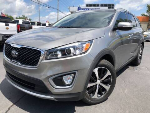 2016 Kia Sorento for sale at LATINOS MOTOR OF ORLANDO in Orlando FL