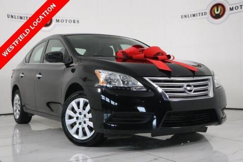 2015 Nissan Sentra for sale at INDY'S UNLIMITED MOTORS - UNLIMITED MOTORS in Westfield IN
