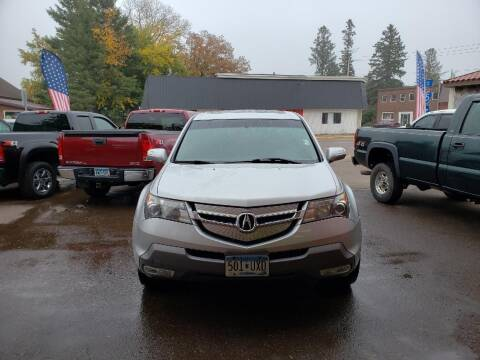 2009 Acura MDX for sale at WB Auto Sales LLC in Barnum MN
