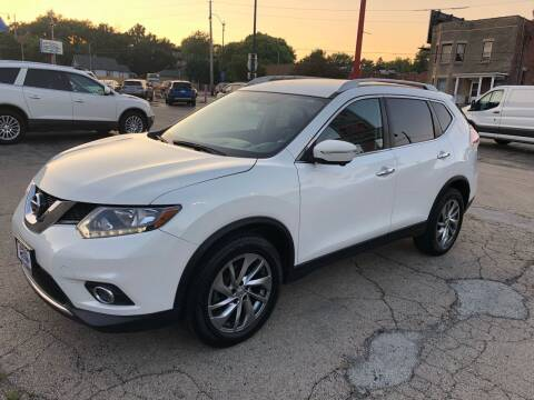 2014 Nissan Rogue for sale at Bibian Brothers Auto Sales & Service in Joliet IL
