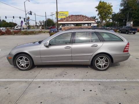 2004 Mercedes-Benz C-Class for sale at RN AUTO GROUP in San Bernardino CA