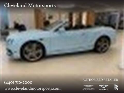 2016 Bentley Continental for sale at Drive Options in North Olmsted OH
