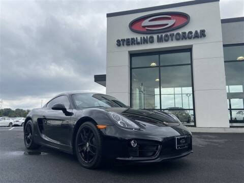 2014 Porsche Cayman for sale at Sterling Motorcar in Ephrata PA