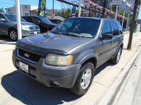 2002 Ford Escape for sale at CAR CENTER INC in Chicago IL