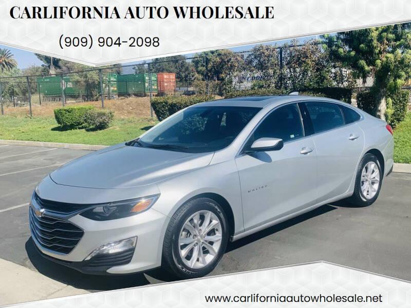 2019 Chevrolet Malibu for sale at CARLIFORNIA AUTO WHOLESALE in San Bernardino CA