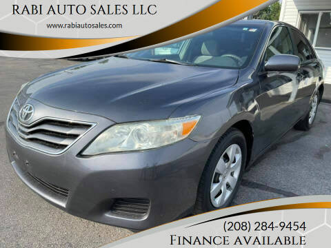 2010 Toyota Camry for sale at RABI AUTO SALES LLC in Garden City ID