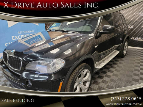 2012 BMW X5 for sale at X Drive Auto Sales Inc. in Dearborn Heights MI