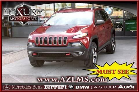 2014 Jeep Cherokee for sale at Luxury Motorsports in Phoenix AZ