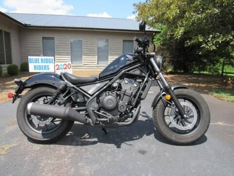 2020 Honda Rebel 500 for sale at Blue Ridge Riders in Granite Falls NC