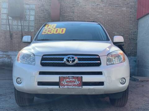 2008 Toyota RAV4 for sale at Alpha Motors in Chicago IL