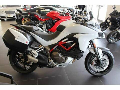 2017 Ducati Multistrada 1200 Touring for sale at Peninsula Motor Vehicle Group in Oakville Ontario NY